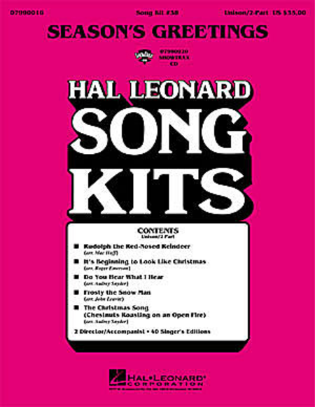 Season's Greetings (Song Kit #38)