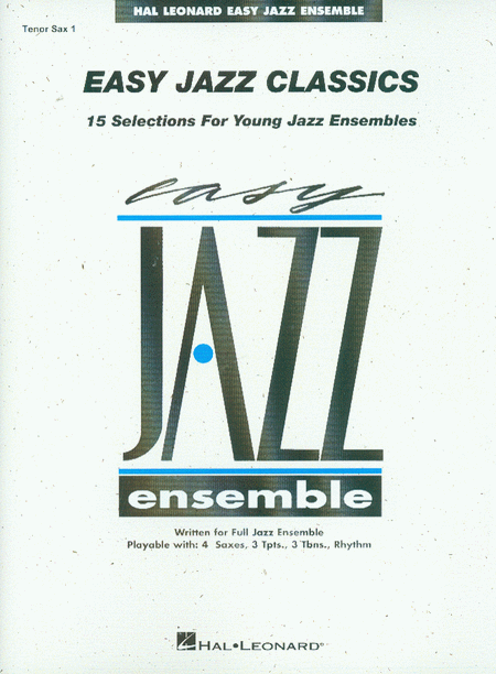 Easy Jazz Classics - Tenor Sax 1