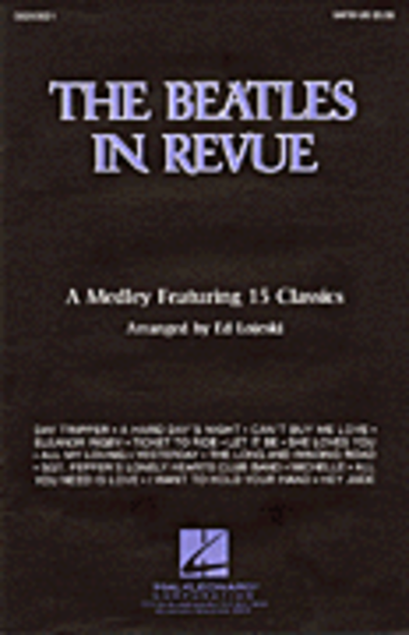 The Beatles in Revue (Medley of 15 Classics) - ShowTrax CD