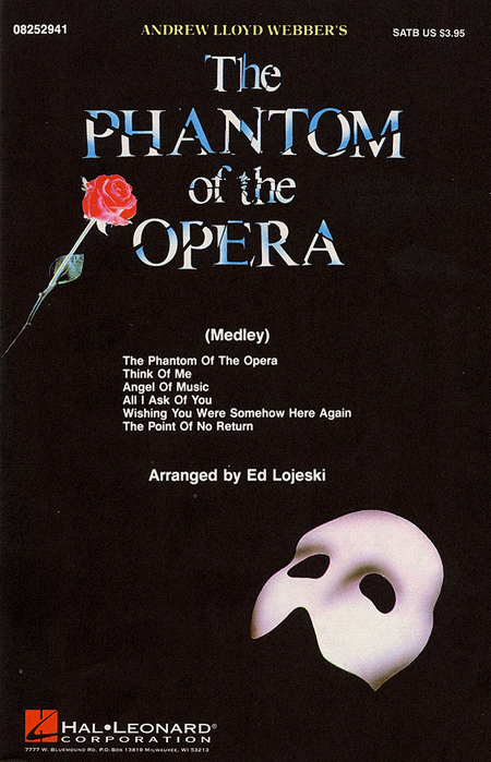 The Phantom of the Opera (Medley) FREE Sheet Music Notes Preview