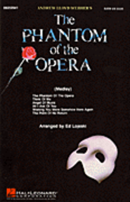 The Phantom of the Opera (Medley) - ShowTrax CD