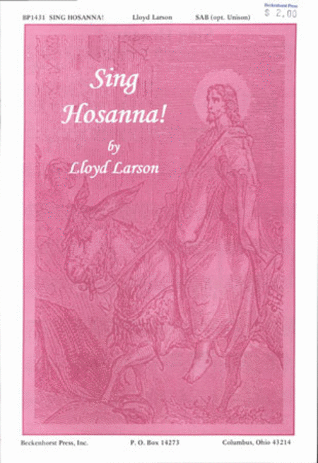 Sing Hosanna!