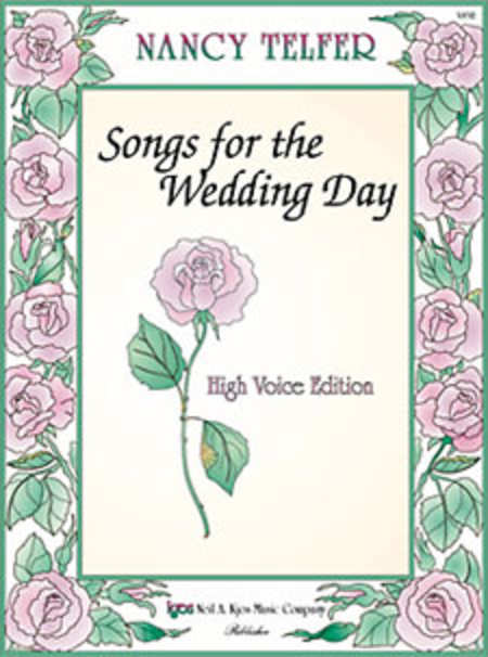 Songs For the Wedding Day, High Voice