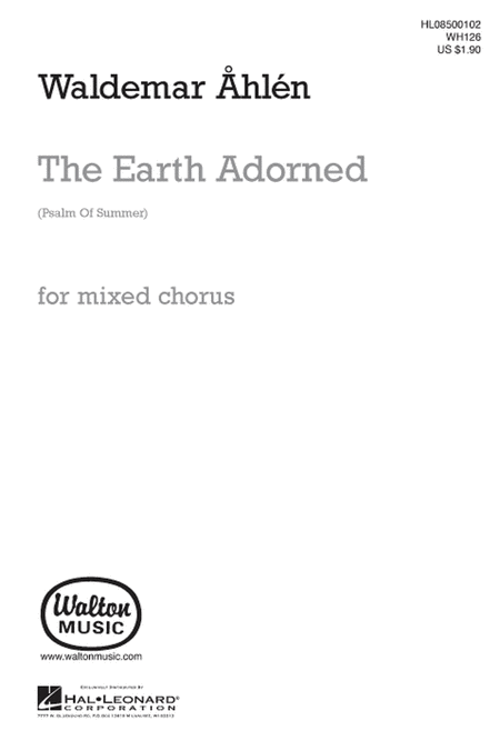 The Earth Adorned - SATB