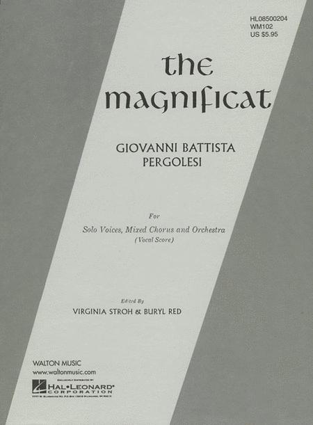 The Magnificat (Vocal Score)