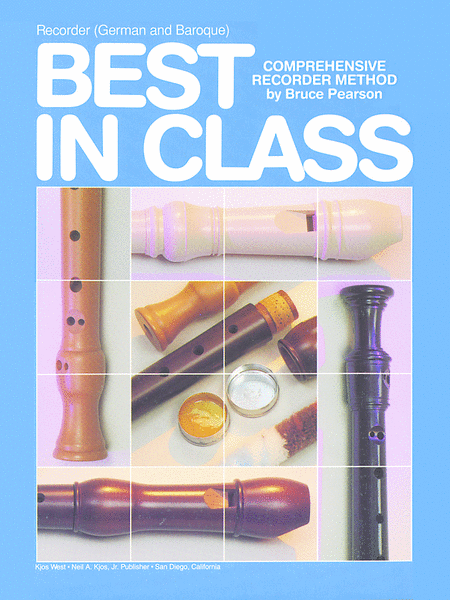 Best in Class Recorder Method - German and Baroque