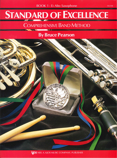 Standard of Excellence Book 1, Alto Sax