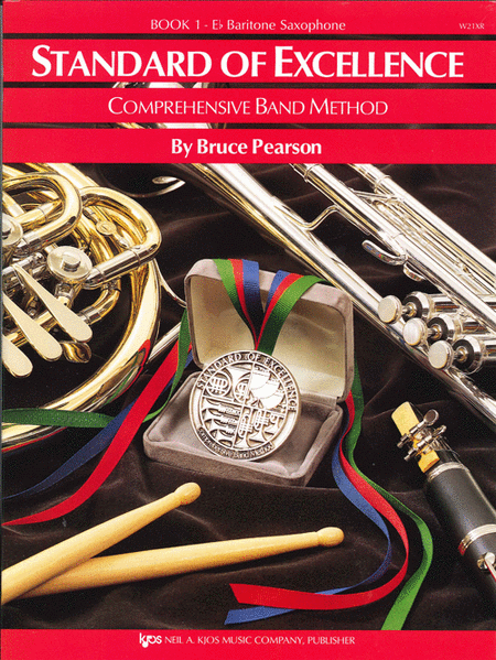 Standard of Excellence Book 1, Baritone Sax