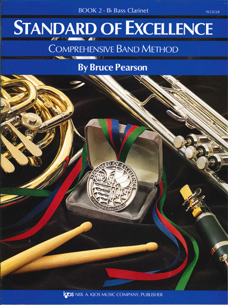 Standard of Excellence Book 2, Bass Clarinet