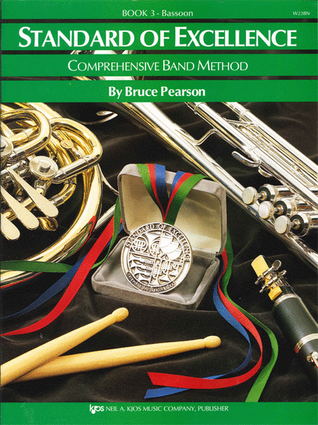 Standard of Excellence Book 3, Bassoon