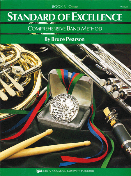 Standard of Excellence Book 3, Oboe