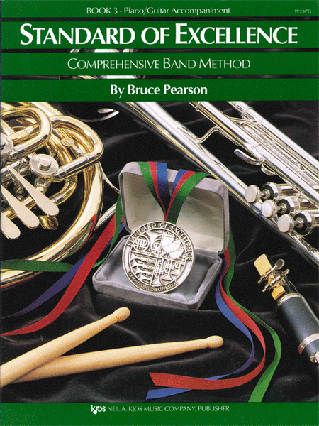 Standard of Excellence Book 3, Piano/Guitar