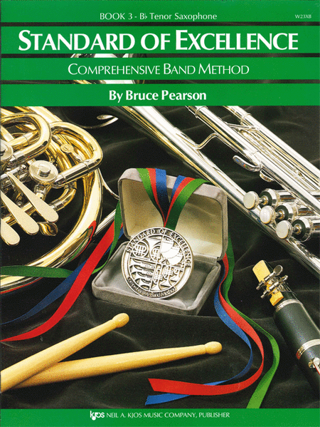 Standard of Excellence Book 3, Tenor Sax