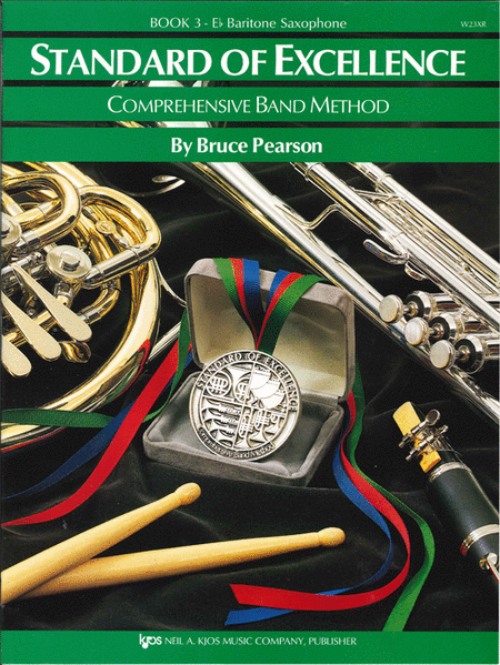 Standard of Excellence Book 3, Baritone Sax