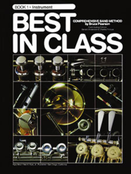 Best in Class, Book 1 - Bb Ten Saxophone