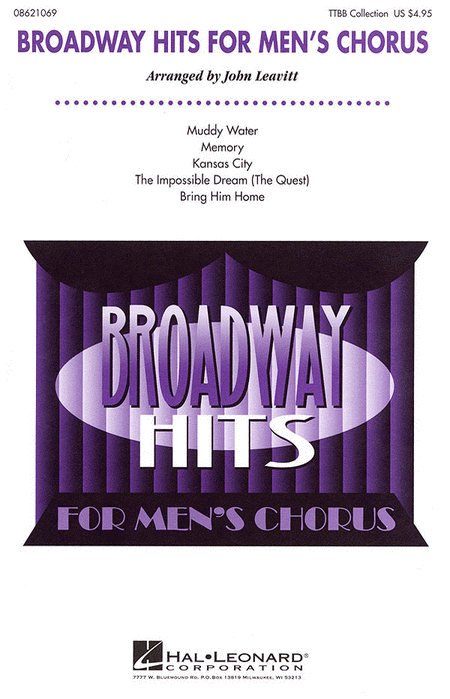Broadway Hits for Men's Chorus (Collection)