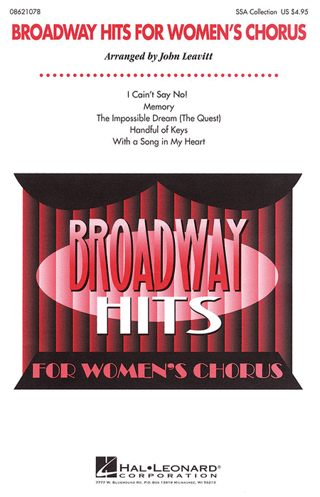 Broadway Hits for Women's Chorus (Collection)
