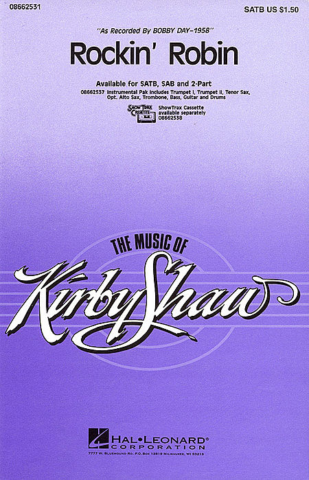Rockin' Robin - ShowTrax CD