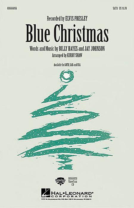Blue Christmas - ShowTrax CD