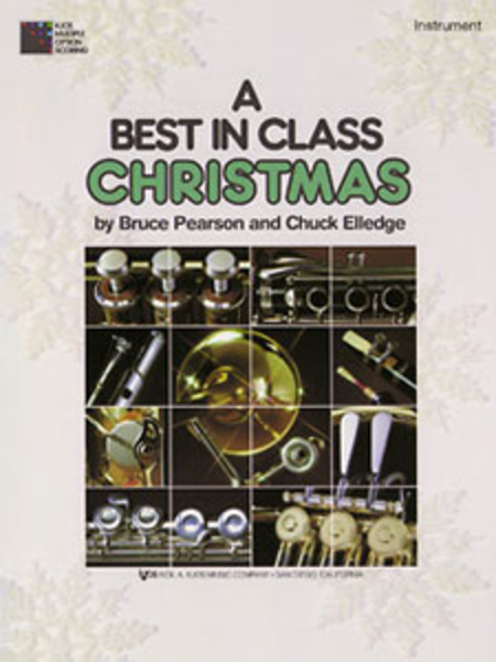 A Best in Class Christmas - Eb Alto Horn
