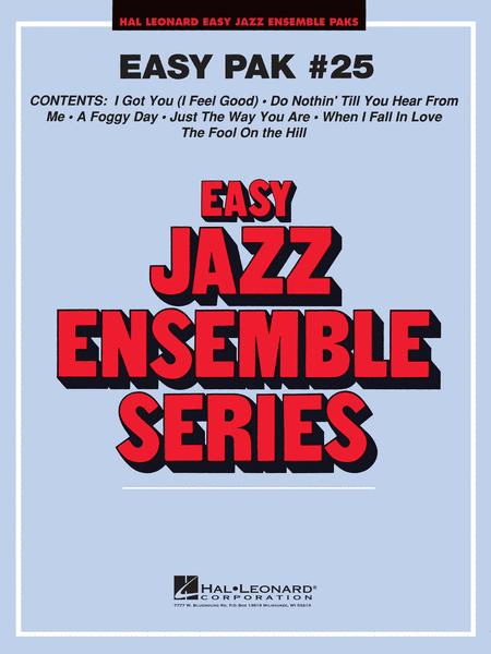 Easy Jazz Ensemble Pak 25