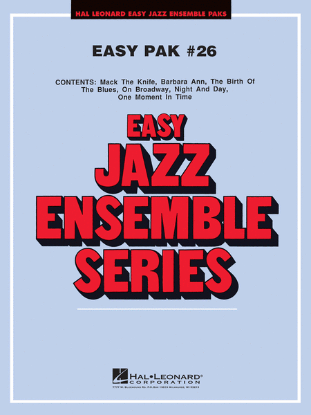 Easy Jazz Ensemble Pak 26