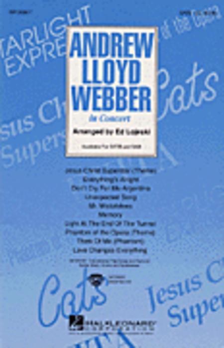 Andrew Lloyd Webber in Concert (Medley) - ShowTrax CD