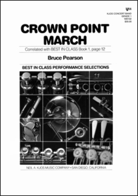 Crown Point March - Score