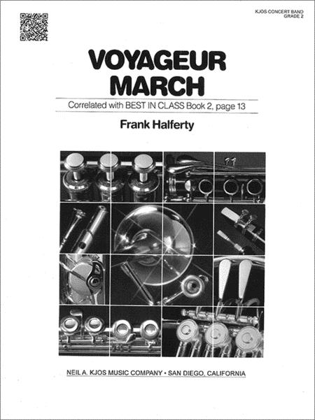Voyageur March - Score