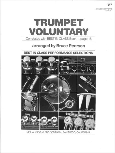 Trumpet Voluntary - Score