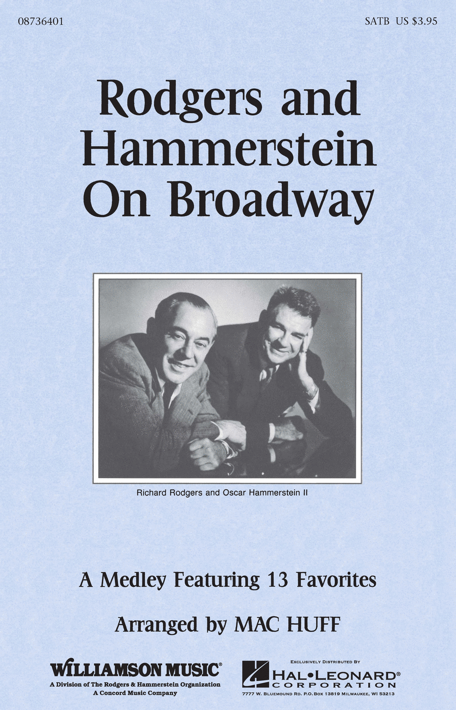 Rodgers And Hammerstein On Broadway - Medley