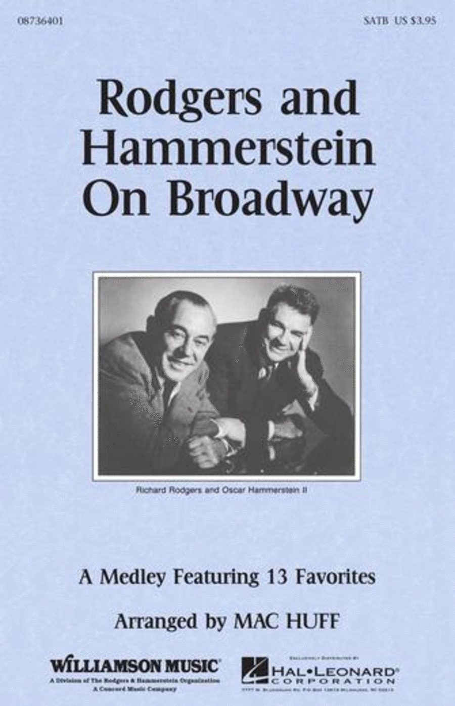 Rodgers and Hammerstein on Broadway (Medley) - ShowTrax CD