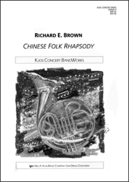 Chinese Folk Rhapsody - Score