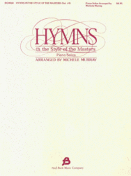 Hymns in The Style of the Masters - Volume 2