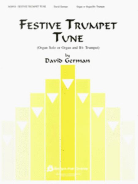 Festive Trumpet Tune - Organ Solo Or Organ/Bb Trumpet