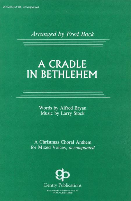 A Cradle in Bethlehem