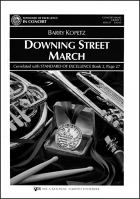 Downing Street March - Score
