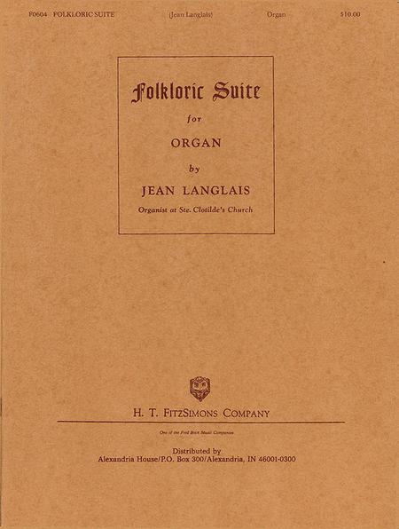 Folkloric Suite - Organ