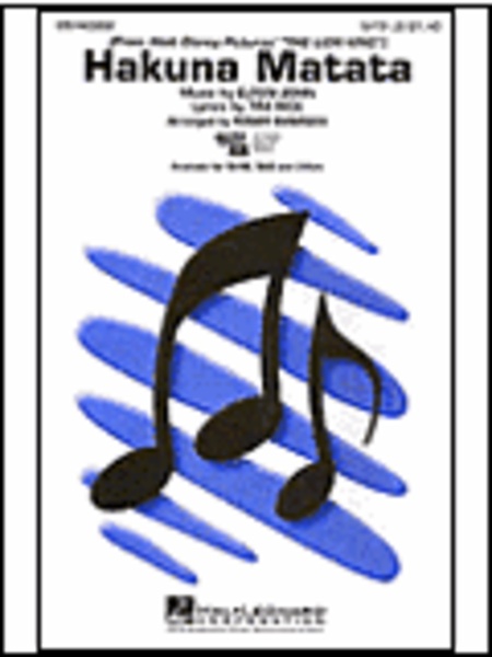 Hakuna Matata - ShowTrax CD