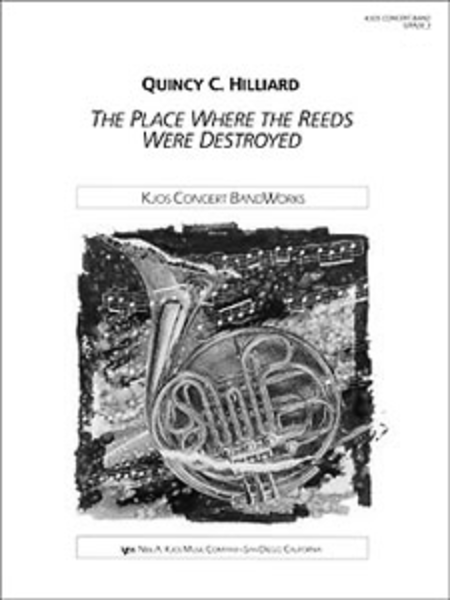 The Place Where the Reeds Were Destroyed - Score