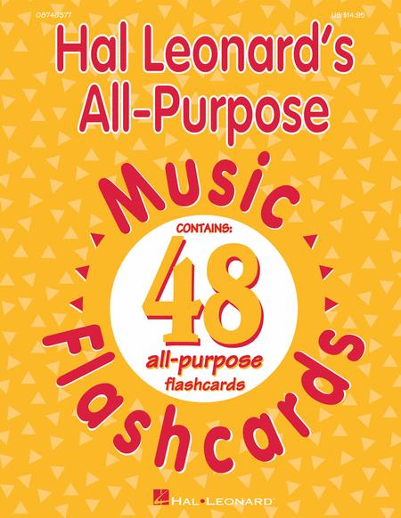 Hal Leonard's All-Purpose Music Flashcards