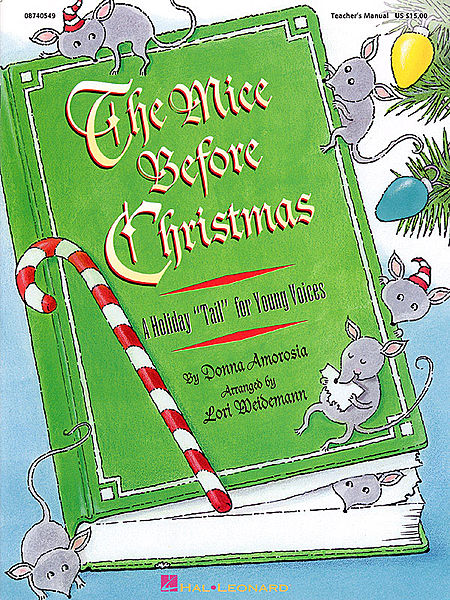The Mice Before Christmas (Musical) - ShowTrax CD