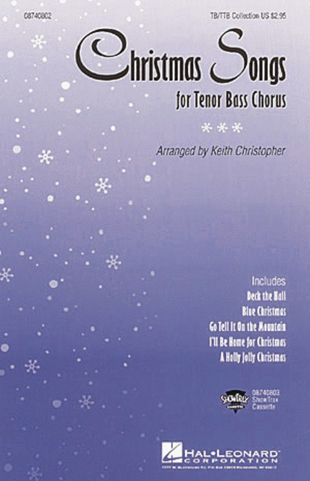Christmas Songs (Collection for Tenor Bass Chorus)