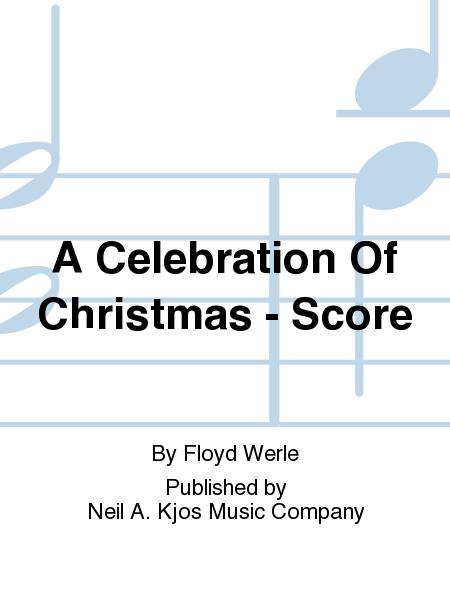 A Celebration Of Christmas - Score