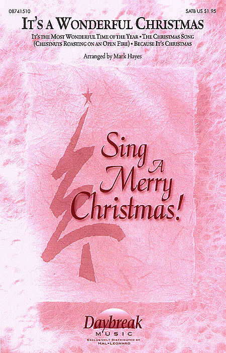 It's a Wonderful Christmas (Medley) - ChoirTrax CD