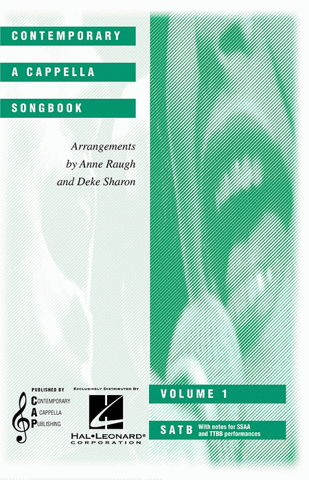 Contemporary A Cappella Songbook - Volume 1 (Collection)