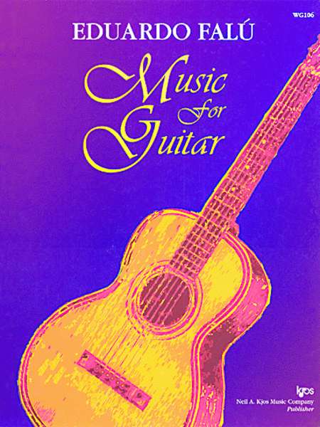 Eduardo Falu, Music For the Guitar