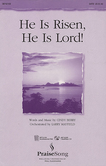 He Is Risen, He Is Lord! - ChoirTrax CD