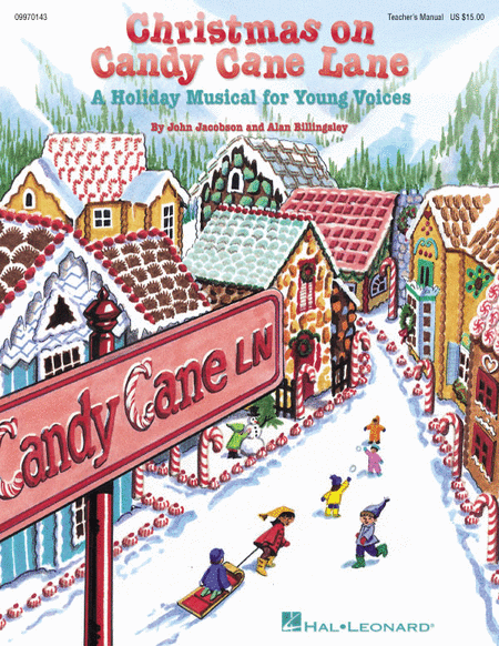 Christmas on Candy Cane Lane - Teacher's Edition