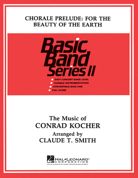 Chorale: For the Beauty of the Earth